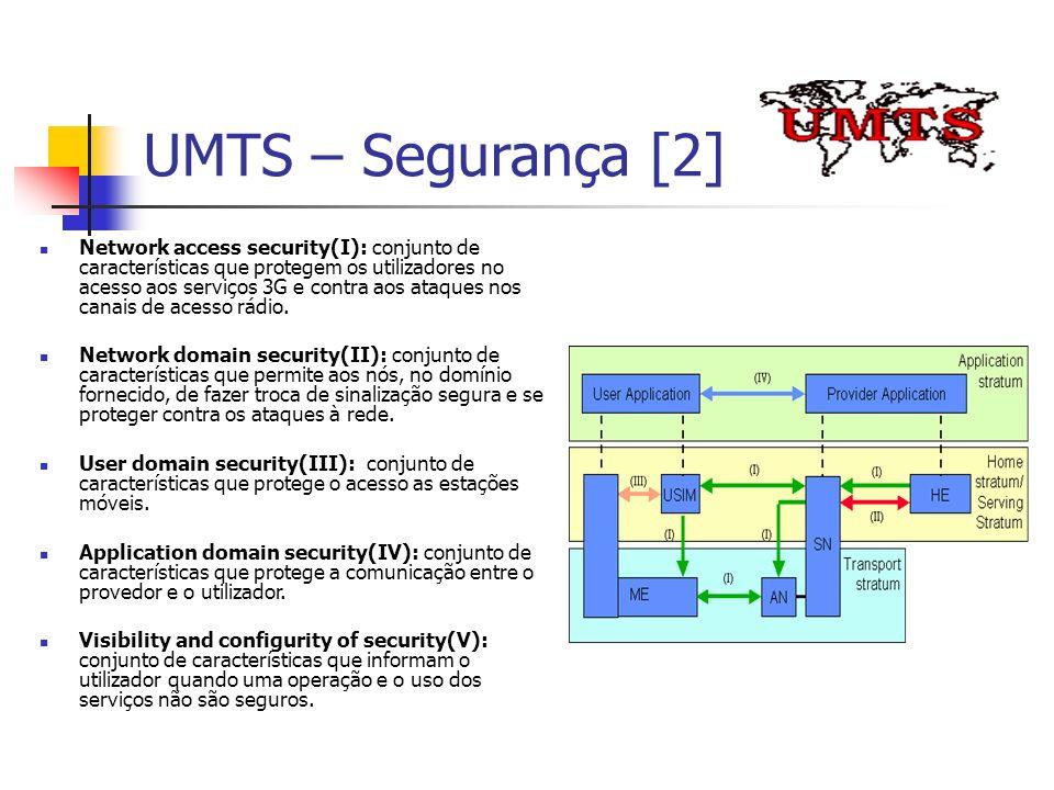 UMTS – Segurança [2]